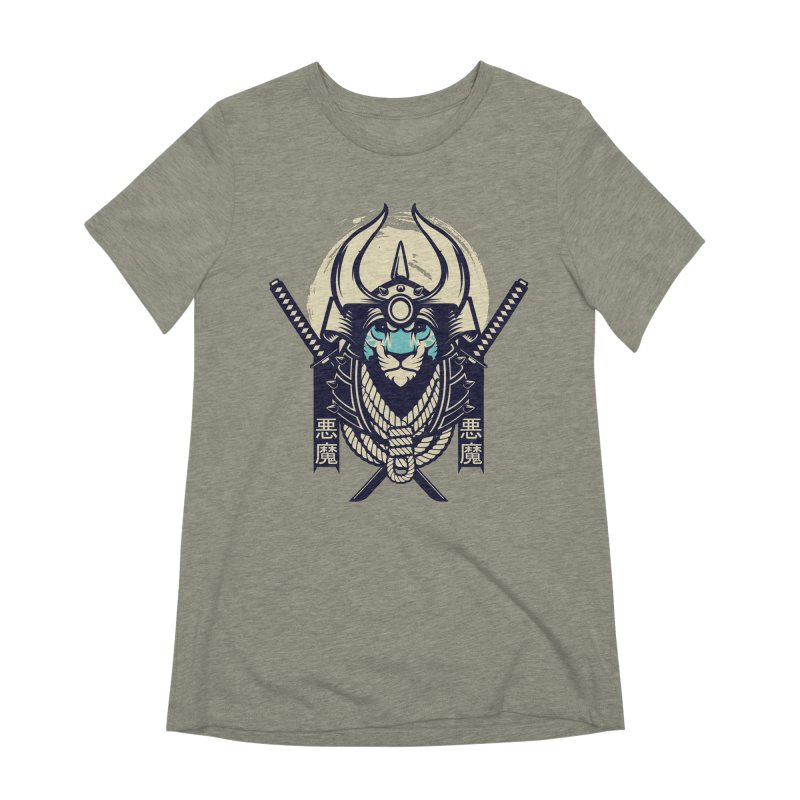 Samurai Tiger Women's Extra Soft T-Shirt by HYDRO74