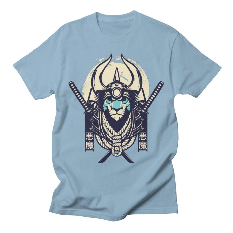 Samurai Tiger Men's T-Shirt by HYDRO74