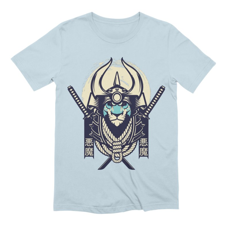 Samurai Tiger Men's T-Shirt by HYDRO74