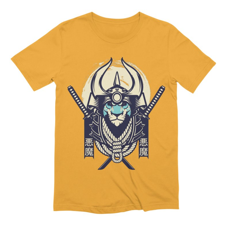 Samurai Tiger Men's Extra Soft T-Shirt by HYDRO74