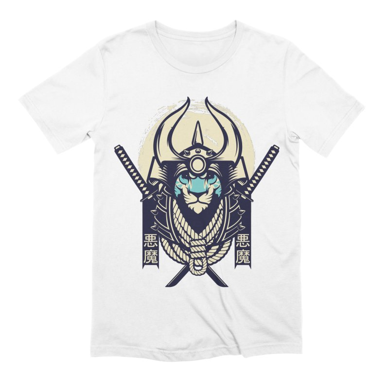 Samurai Tiger Men's Extra Soft T-Shirt by HYDRO74