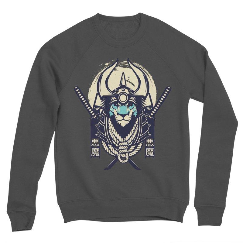 Samurai Tiger Men's Sponge Fleece Sweatshirt by HYDRO74
