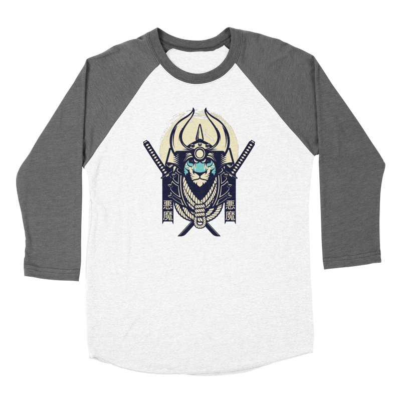 Samurai Tiger Women's Longsleeve T-Shirt by HYDRO74