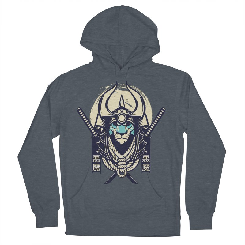 Samurai Tiger Men's French Terry Pullover Hoody by HYDRO74