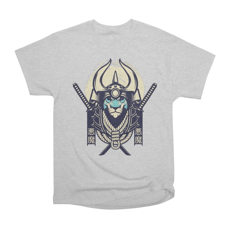 Samurai Tiger Men's Heavyweight T-Shirt by HYDRO74