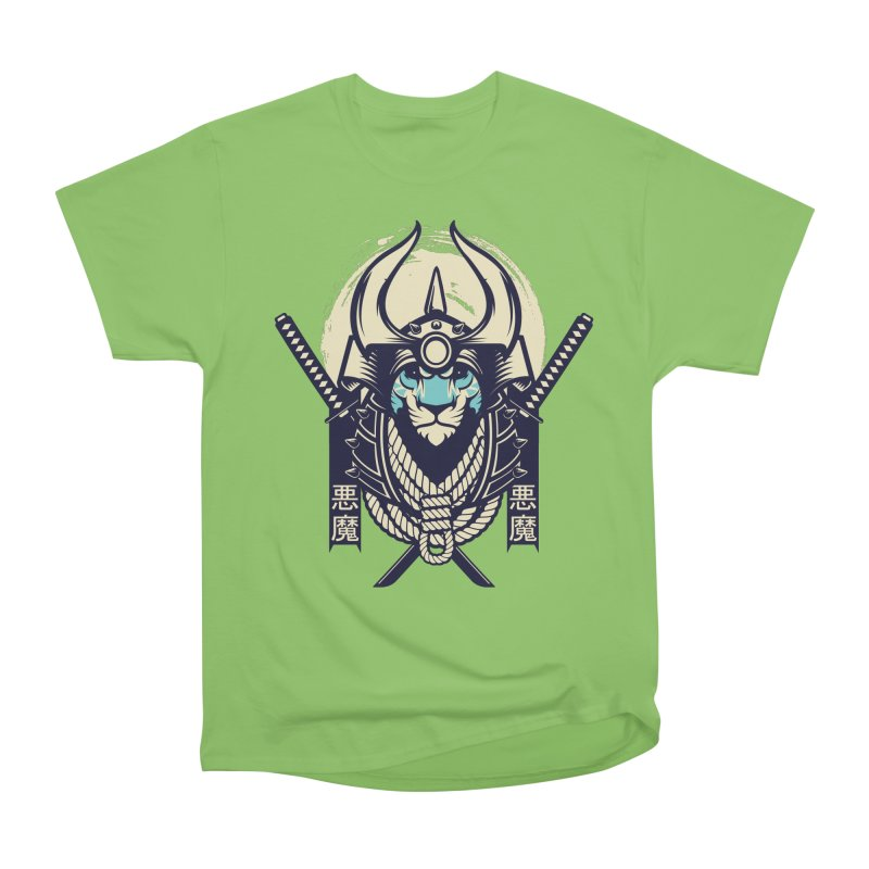 Samurai Tiger Men's Heavyweight T-Shirt by HYDRO74