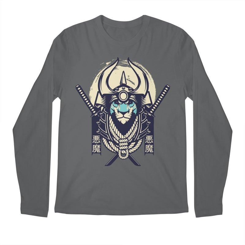 Samurai Tiger Men's Longsleeve T-Shirt by HYDRO74