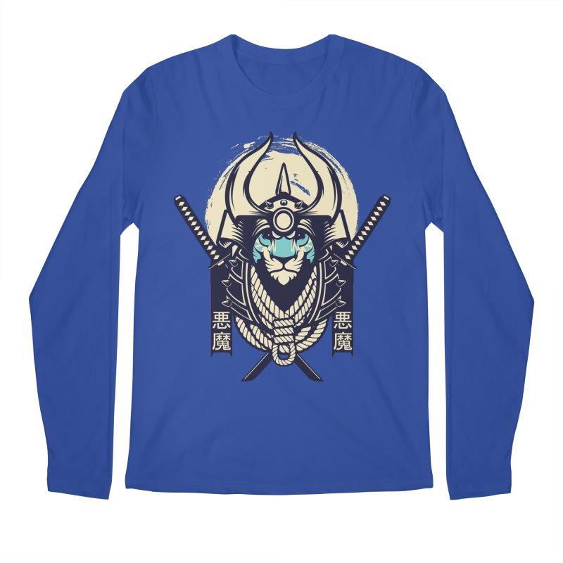 Samurai Tiger Men's Regular Longsleeve T-Shirt by HYDRO74