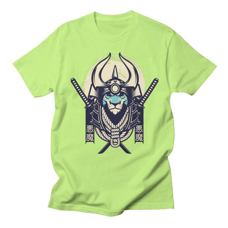 Samurai Tiger Men's Regular T-Shirt by HYDRO74