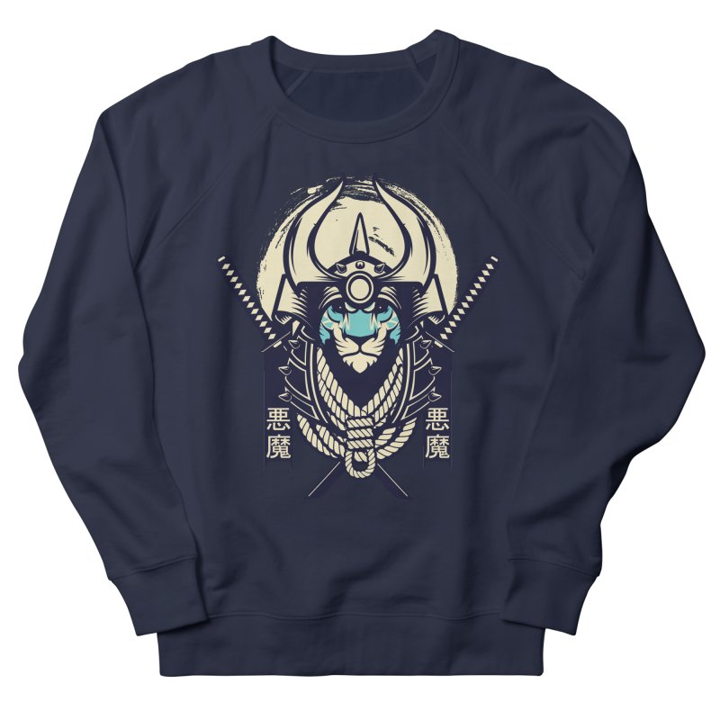 Samurai Tiger Women's French Terry Sweatshirt by HYDRO74