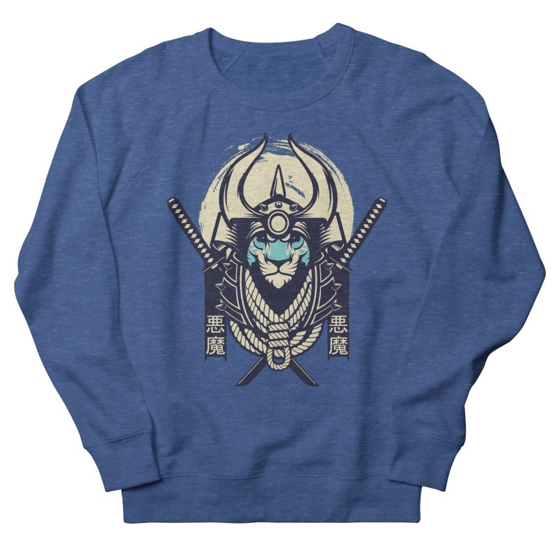 Samurai Tiger Men's Sweatshirt by HYDRO74