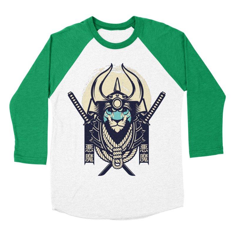 Samurai Tiger Women's Baseball Triblend Longsleeve T-Shirt by HYDRO74