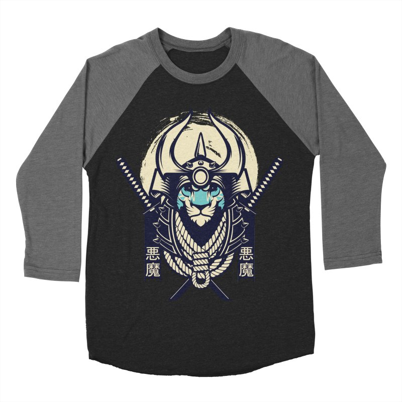 Samurai Tiger Men's Baseball Triblend Longsleeve T-Shirt by HYDRO74