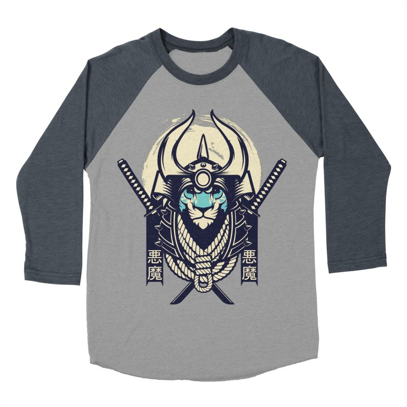 Samurai Tiger Men's Baseball Triblend Longsleeve T-Shirt by HYDRO74
