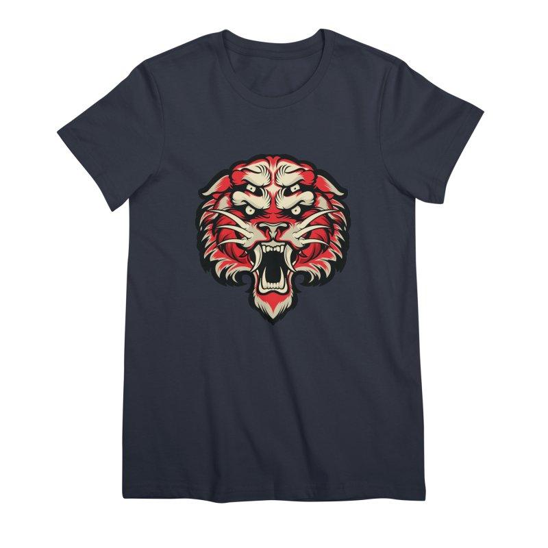 Sabertooth Women's Premium T-Shirt by HYDRO74