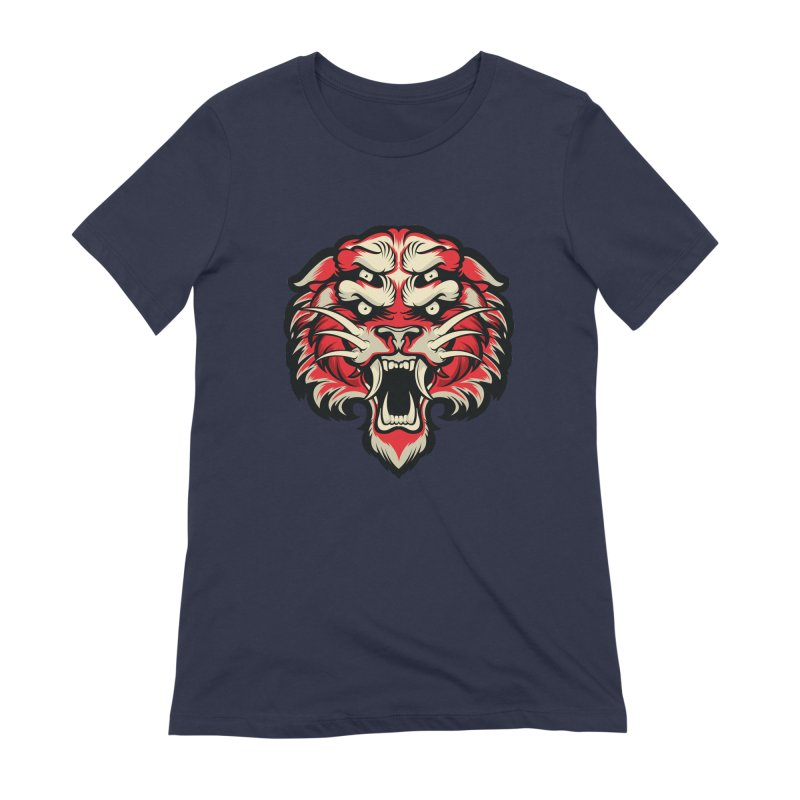 Sabertooth Women's Extra Soft T-Shirt by HYDRO74