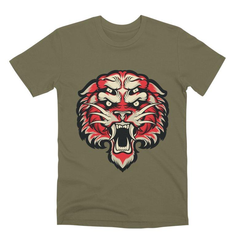 Sabertooth Men's Premium T-Shirt by HYDRO74