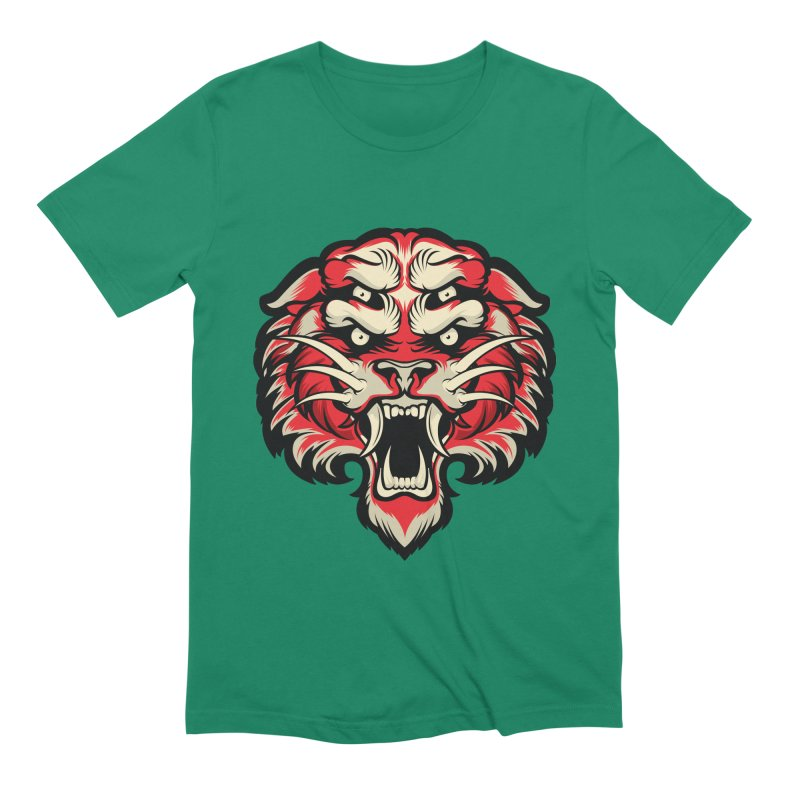 Sabertooth Men's Extra Soft T-Shirt by HYDRO74