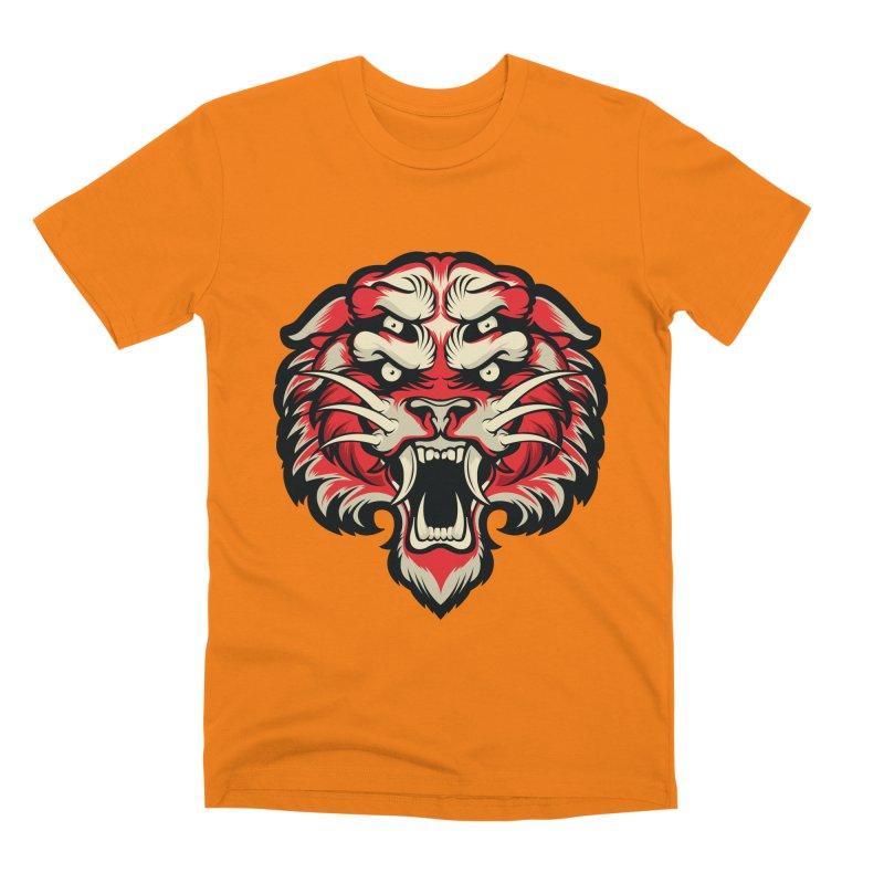 Sabertooth Men's T-Shirt by HYDRO74