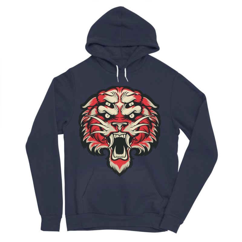 Sabertooth Men's Sponge Fleece Pullover Hoody by HYDRO74