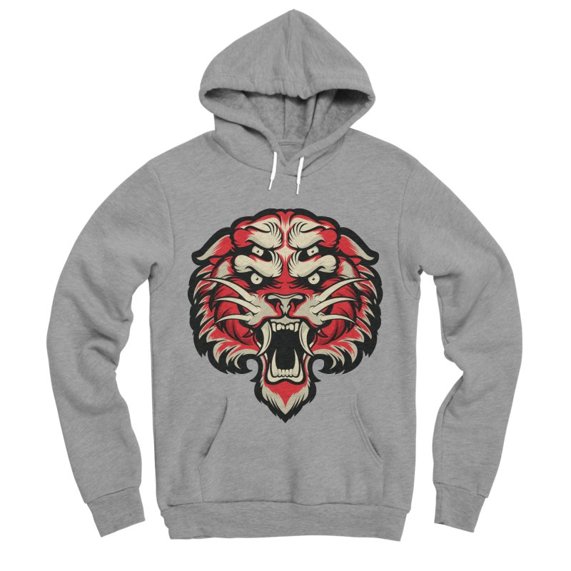 Sabertooth Women's Sponge Fleece Pullover Hoody by HYDRO74