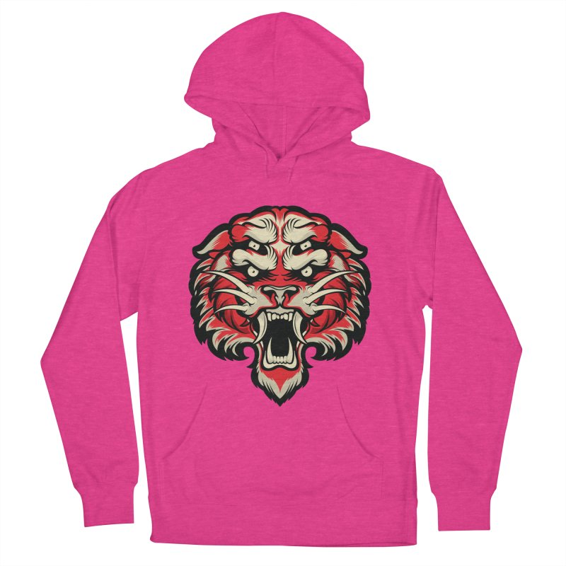Sabertooth Women's French Terry Pullover Hoody by HYDRO74