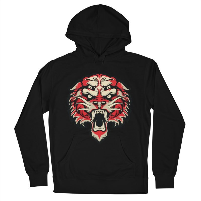 Sabertooth Men's French Terry Pullover Hoody by HYDRO74