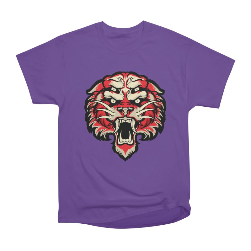 Sabertooth Women's Heavyweight Unisex T-Shirt by HYDRO74