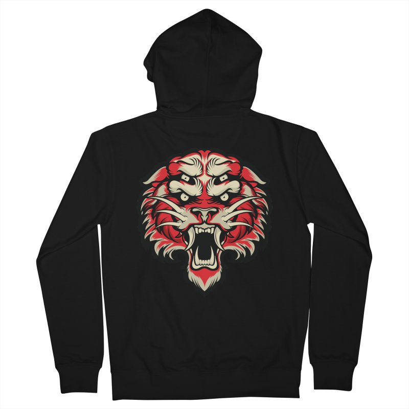 Sabertooth Women's French Terry Zip-Up Hoody by HYDRO74