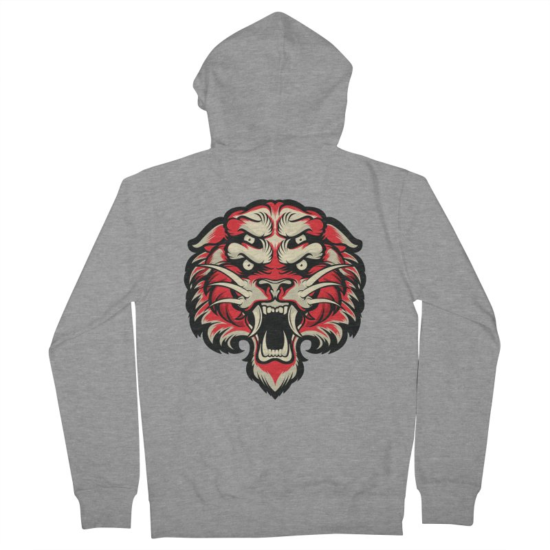 Sabertooth Men's French Terry Zip-Up Hoody by HYDRO74