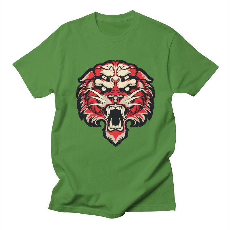 Sabertooth Women's Regular Unisex T-Shirt by HYDRO74