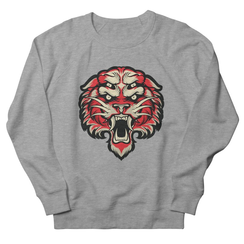 Sabertooth Women's French Terry Sweatshirt by HYDRO74