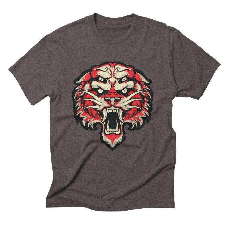 Sabertooth Men's Triblend T-Shirt by HYDRO74