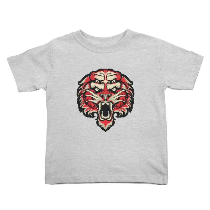 Sabertooth Kids Toddler T-Shirt by HYDRO74