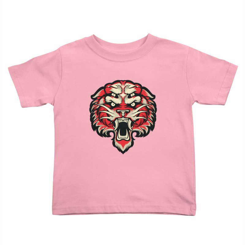 Sabertooth Kids Toddler T-Shirt by HYDRO74