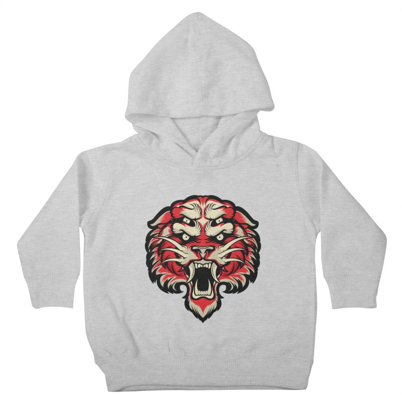 Sabertooth Kids Toddler Pullover Hoody by HYDRO74