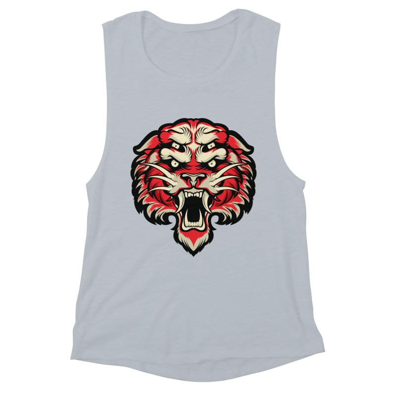Sabertooth Women's Muscle Tank by HYDRO74