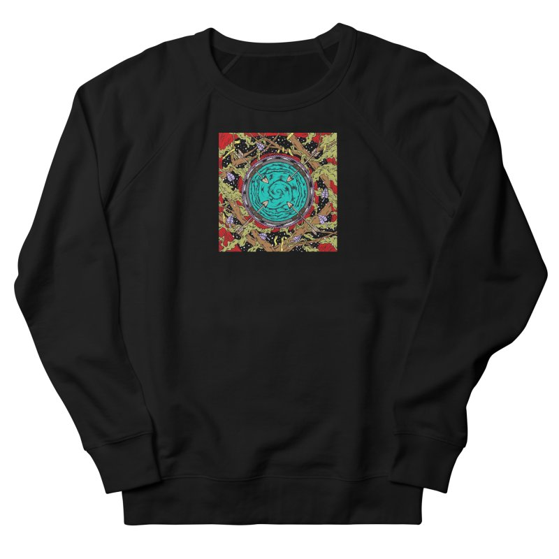 Hypermode Art Men's French Terry Sweatshirt by hypermode's Art Shop