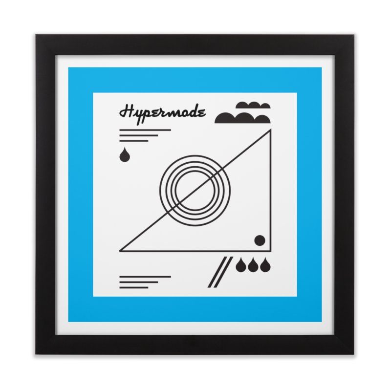 Hypermode artworks Home Framed Fine Art Print by hypermode's Art Shop