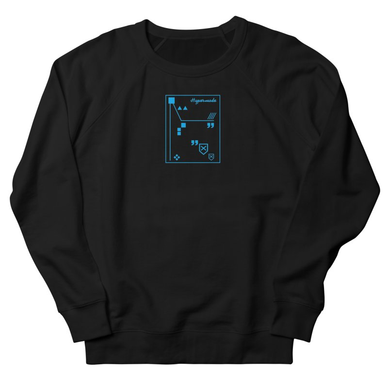 Hypermode Artworks Men's French Terry Sweatshirt by hypermode's Art Shop