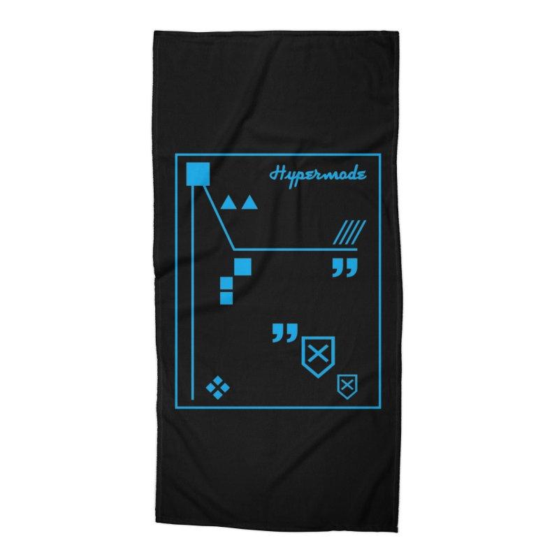Hypermode Artworks Accessories Beach Towel by hypermode's Art Shop
