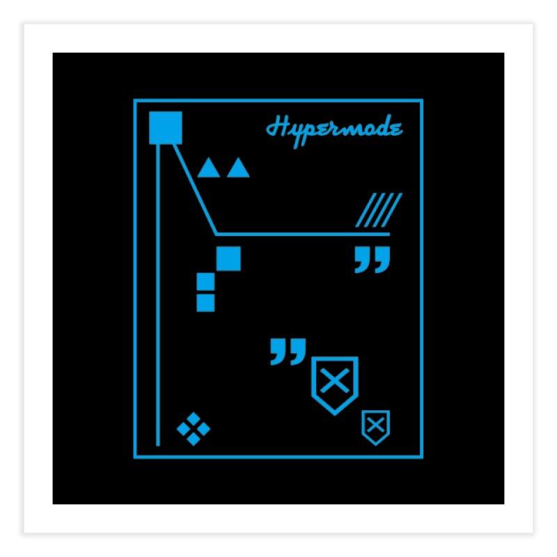 Hypermode Artworks Home Fine Art Print by hypermode's Art Shop