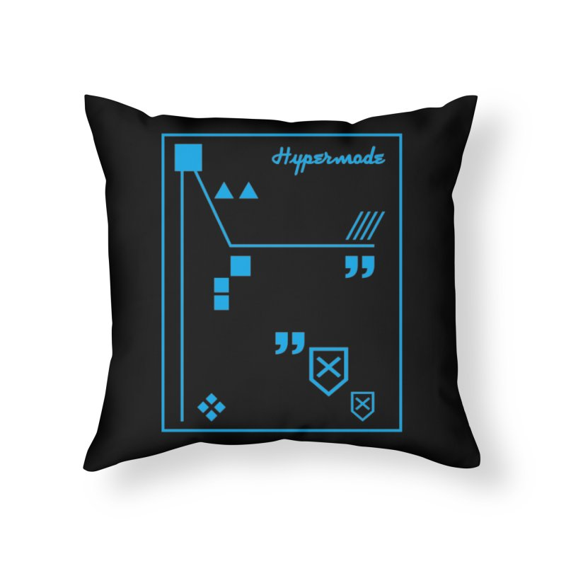 Hypermode Artworks Home Throw Pillow by hypermode's Art Shop