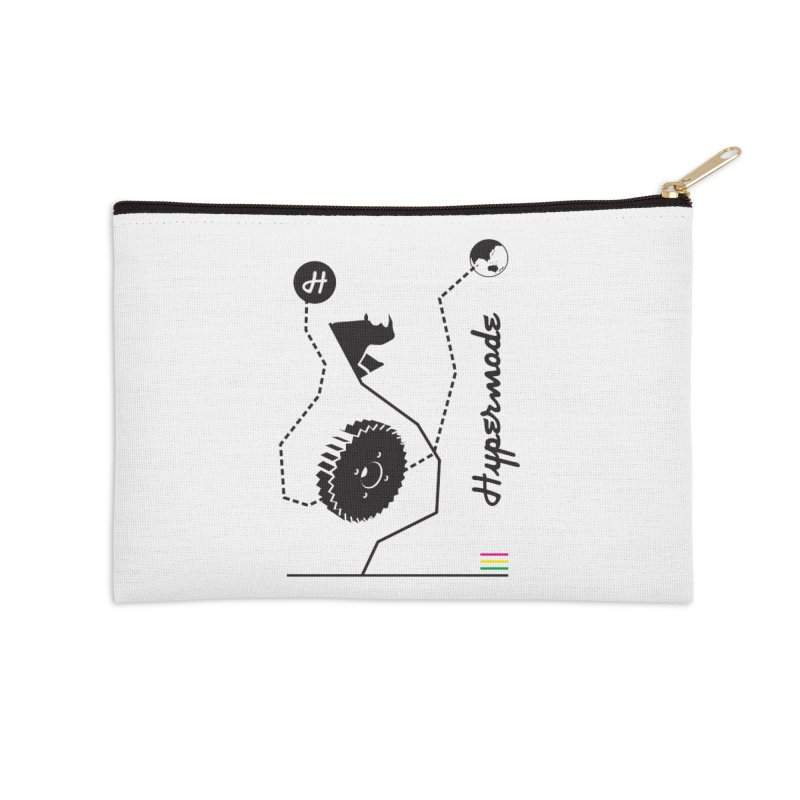 Hypermode Artworks Accessories Zip Pouch by hypermode's Art Shop