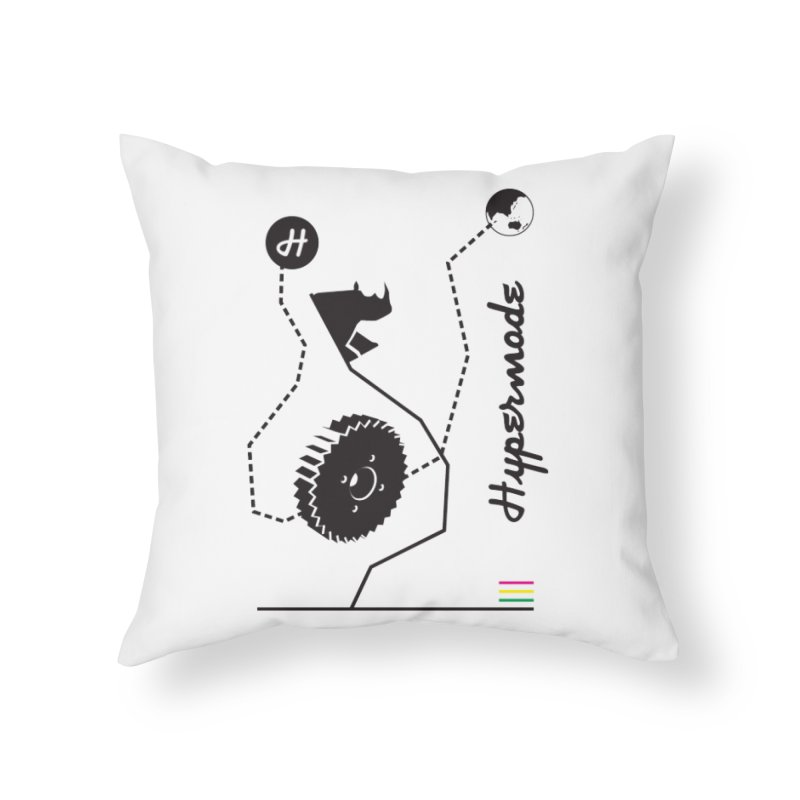 Hypermode Artworks Home Throw Pillow by hypermode's Art Shop
