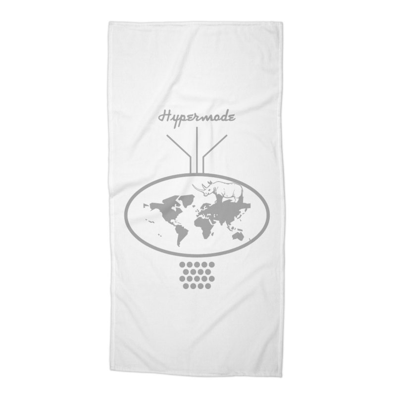 Hypermode Artworks Accessories Beach Towel by hypermode's Art Shop
