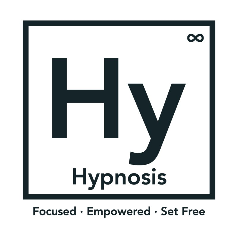 Hypnosis : An Element of Change : White Medium Lettering Men's V-Neck by Hypnosis Shop