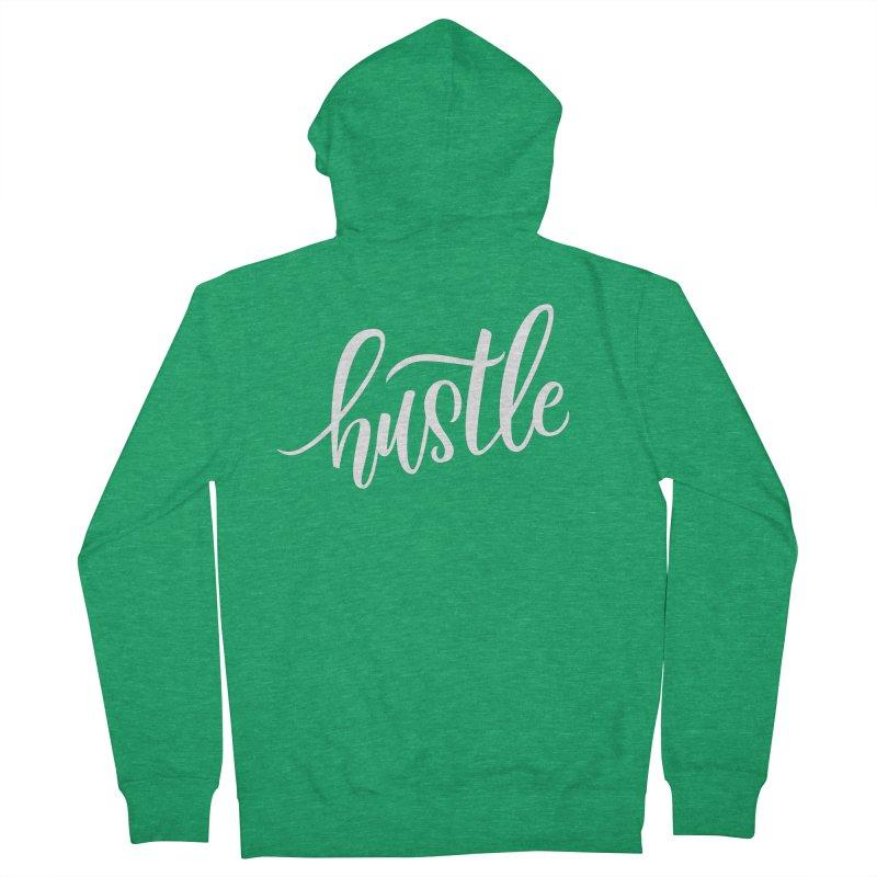 hustle Women's Zip-Up Hoody by Hyssop Design