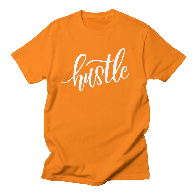 hustle Men's Regular T-Shirt by Hyssop Design