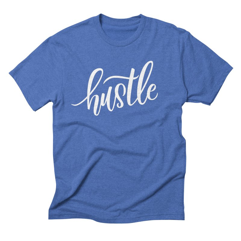 hustle Men's T-Shirt by Hyssop Design